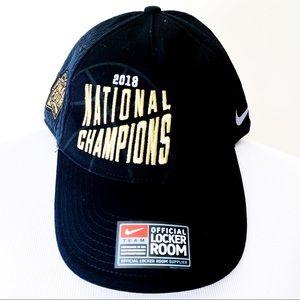 🆕 Nike Villanova Basketball 2018 Champions Hat